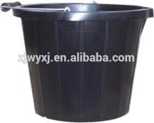 plastic flexible bucket,strong plastic barrel,Economy plastic pail for construction