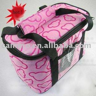 Lovely Pink Wine Bottle Cooler bags