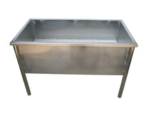 Stainless steel Good sealing dog tub/H-101