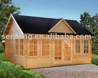 2015 Prefabricated Log/Wooden Garden House STK181 for Sale