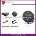 Début de bouton la voiture sans clefs : allumage de début d'Un-clef pour des voitures.