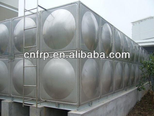 Depósito de agua ( galvanizado de acero ) para el techo de lucha contra incendios de almacenamiento de agua