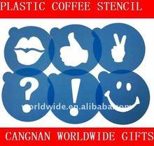 Cappuccino Coffee Stencil