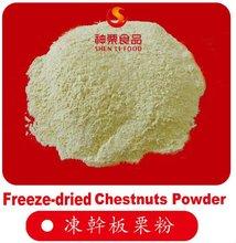 Freeze-dried Organic Pure Chestnuts Powder