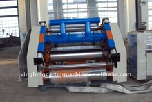 adsorption type corrugated cardboar single facer machine