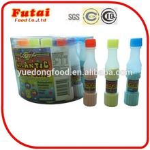 18g Bottled multicolored fruit flavor powder candy