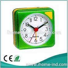 plastic squrae running alarm clock