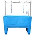 plastic dog grooming baths with ramp/pet bathtubH-111