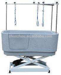 Fiberglass Lifting Dog Tub Pet Grooming Product / H-112