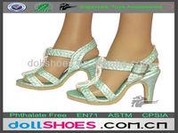 Fashion BJD High heel lady doll sandal, SD doll shoes, toy shoes