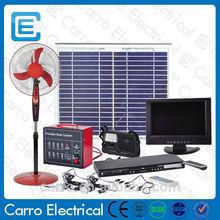 Portable CES-1226 60W solar panel 15'' LCD TV Solar Home System/Home Solar System/Solar System for home