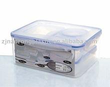 clip lock plastic food container sets