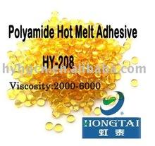 HY-208 Polyamide Hot Melt Adhesive plastic adhesives