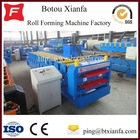 Popular Corrugated Galvanized Aluminium Colored Steel Profile Metal Roofing Sheet Making Machine