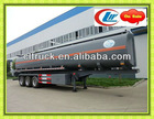 3 axles enclosed gooseneck trailers,tanker trailer,fuel tanker trailer