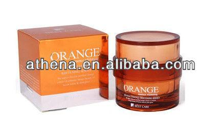 Mejor atención vitamina C y ácido kójico y naranja natural crema para blanquear la piel