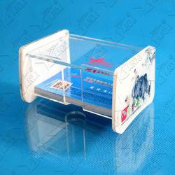 acrylic business name card box