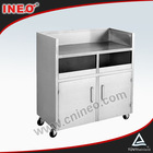 Kitchen Stainless Steel Mobile Storage Cabinet/ Kitchen Equipment