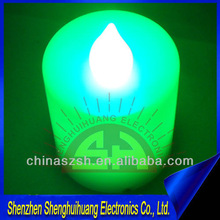 led flashing promotional candle for party