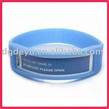 Silicone bracelet Wristband rubber bracelet custom carving laser engraving debossed logo sport