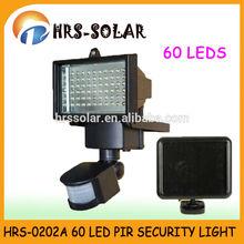 60 LED super bright security light & Solar security led sensor light