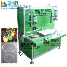 CLEAR CYLINDRICAL BOX EDGE FORMING MACHINE,EDGE CURLING MACHINE