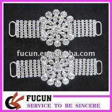crystal rhinestone shoe clips