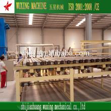 high dedust technical gypsum board equipment(CE)