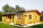 100 sq Meter Wooden House Villa