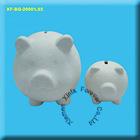 ceramic bisque piggy bank