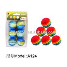 Colorful Foam Golf Ball Golf Ball Manufacturing Golf A124