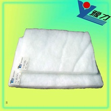Thermal bond polyester batting for beddign&garment
