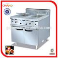 Vertical 2- tanque de gas freidora de pollo con termostato regulador de temperatura gf-985 0086-13580508100