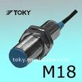 M18 cilindro sensor de proximidade indutivo/interruptor de proximidade