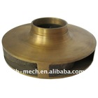 investment cast bronze impeller