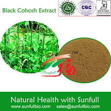 natural Black Cohosh herb extract 2.5% triterpene glycosides