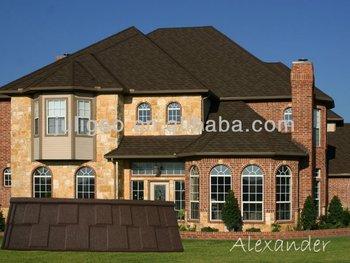 The Colorful Best Quality Architectural Decorative Laminated Fiberglass Asphalt Roof Shingles