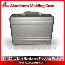 Aluminum brand new silver laptop notebook attache hard case