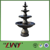 68 Inches high big size polyresin water fountain