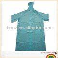 pvc fashional à capuchon long manteau de pluie imperméable en plastique fétiche
