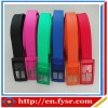 2013 colorful fashion Golf silicone belt silicone rubber golf belts