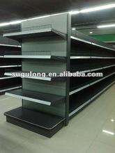 supermarket gondola display shelving&rack