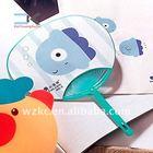 Cooler !! New Design Plastic Advertising japanese round fan