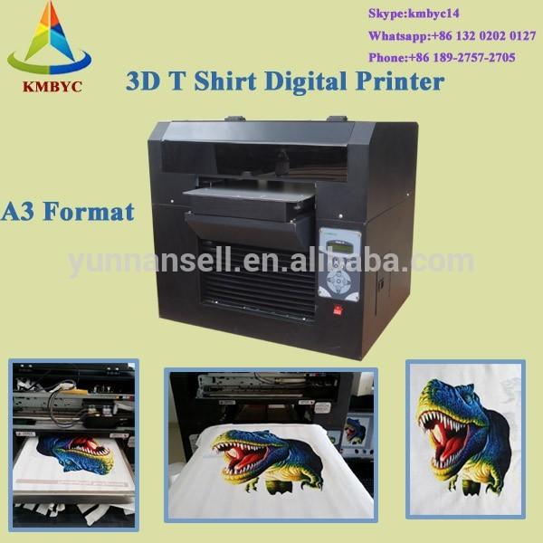 3d t shirt printing machine