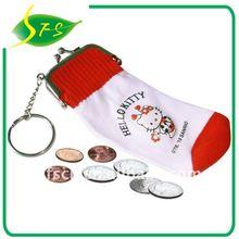 Sock coin bag in Mobile phone design