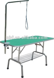 Stainless Steel and Folding Pet grooming table pet products