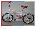 De color rosa hh-bx2007a bicicleta bmx con 360 y del rotor del freno de disco