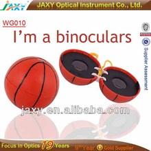 kids binoculars,Cheap basketball&football shape plastic toy dinoculars