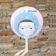 Fany ! Kinds Shape Wholesale Promtional Plastic cute hand fan