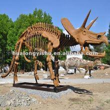 museum high simulaiton dinosaur skeleton